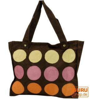 Schultertasche, Shopper Bali - braun