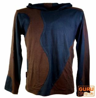 Goa Sweatshirt, Hoody schwarz coffee