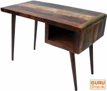 Vintage Schreibtisch, Couchtisch aus Recyclingholz - Modell 22 - Vorschau 2