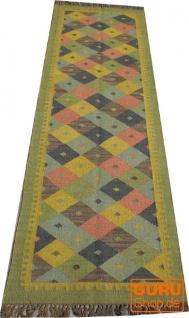Orientalischer grob gewebter Kelim Teppiche 250*80 cm - Muster 3