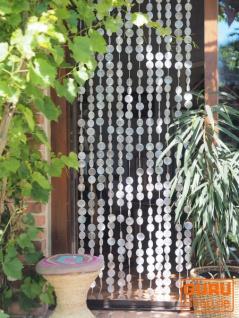 Exotischer Muschelvorhang aus Capiz, Windspiel, Raumteiler, Türvorhang, Wanddeko - 80*200cm