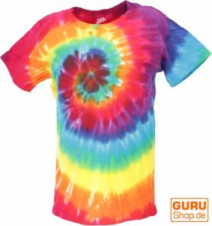 Buntes Batik T-Shirt für Kinder Größe 146 - Model 2