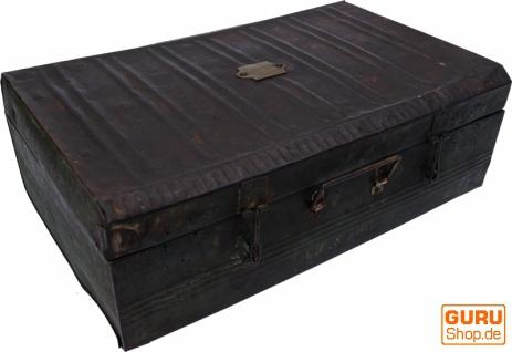 Alter Blechkoffer antiker Metallkoffer - Modell 13