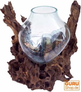 Wurzelholz Vase XXL
