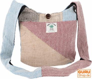 Kleiner Schulterbeutel, Patchwork Tasche - Modell 2