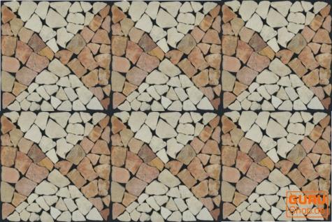 Muster Mosaikfliese aus Marmor (Mo-04) - Design 17 - Vorschau 2