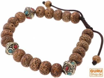 Mala Buddha Armband Bodhi Samen, Handmala - Modell 31