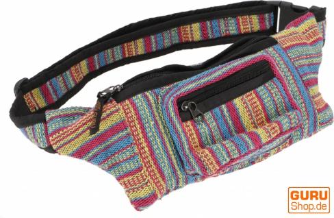 Ethno Sidebag, Nepal Gürteltasche, Goa Tasche - Modell 3