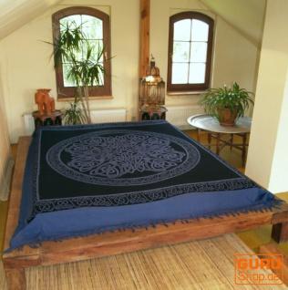 Wandbehang, Wandtuch, Mandala, Tagesdecke Keltisch - Design 24