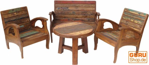 Tolles Möbelset, Sitzgruppe aus Recycleholz Nr.3