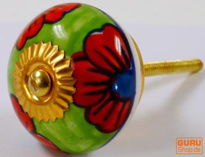 Keramik Möbelknopf, Möbelknauf Möbelgriff, Schranktürknöpfe, Möbelknöpfe, Schubladengriff - Modell 114