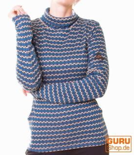 Pullover aus Bio-Baumwolle / Chapati Design - petrol sporty