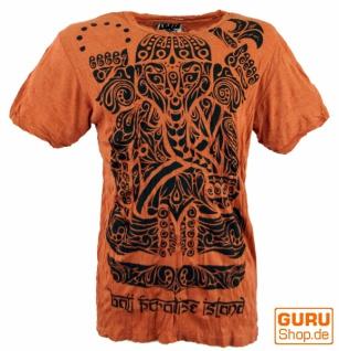 Sure T-Shirt Tribal Ganesha - rostorange