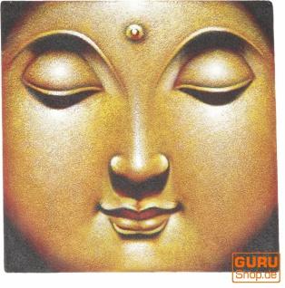 Kleiner Buddha auf Leinwand 40*40 cm - Motiv 16