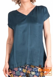 Blusen-Shirt, Bluse / Chapati Design - charcoal grey