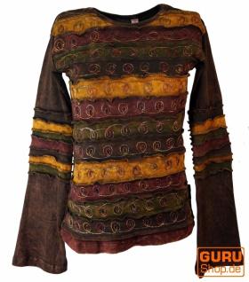 Goa Langarmshirt Stonewash 5