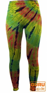 Batik Damen Leggings, Stretch Sporthose für Frauen, Yogahose