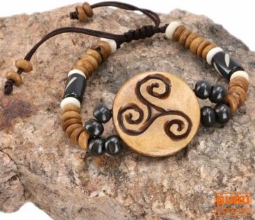 Tibet Armband, buddhistisches Armband, Ethno Tribal Schmuck - Model 2
