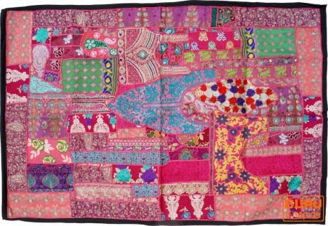 Indischer Wandteppich Patchwork Wandbehang, Einzelstück 150*100 cm - Muster 7