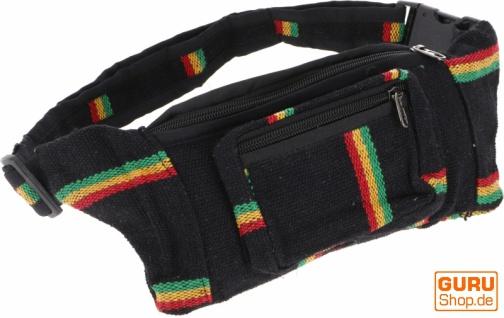 Ethno Sidebag, Nepal Gürteltasche, Goa Tasche - Modell 4