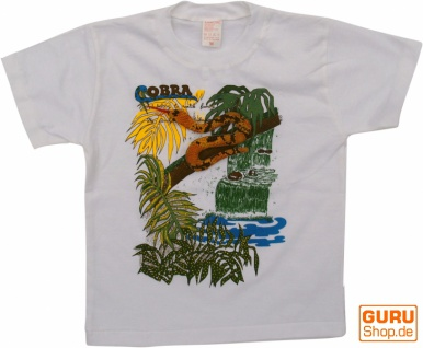 Kinder T-Shirt Hippie Goa mit `Schlange`