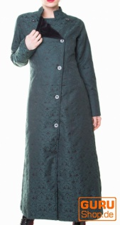 Mantel, wendbar / Chapati Design - peacock blue