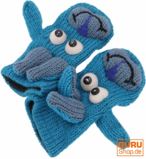 Kinderhandschuhe, Tierhandschuhe Böckchen