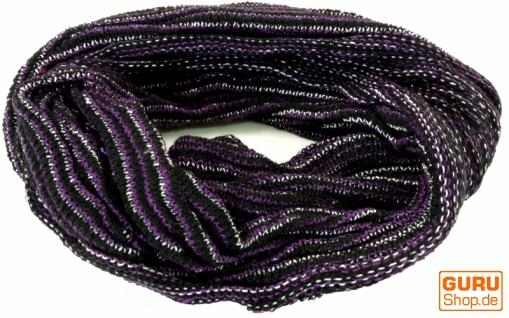 Magic Hairband, Dread Wrap, Schlauchschal, Stirnband, Mütze - Loopschal violett