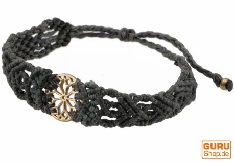 Goa Armband, Makramee, Festival Armband - Mandala Modell 22