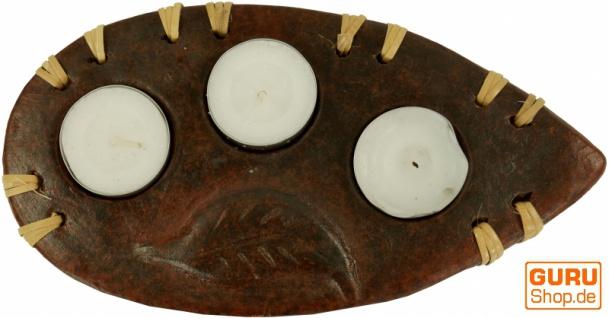 Kerzenhalter, Teelichthalter Keramik Nr.9 - Vorschau 2