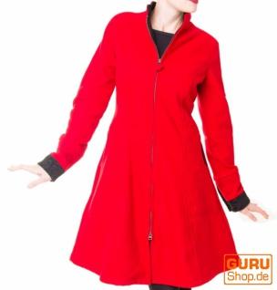 Kurzmantel / Chapati Design - red