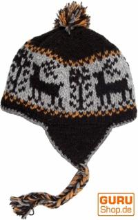 Wollmütze Wollmütze Wollmütze mit Ohrenklappen - 10 a664f0