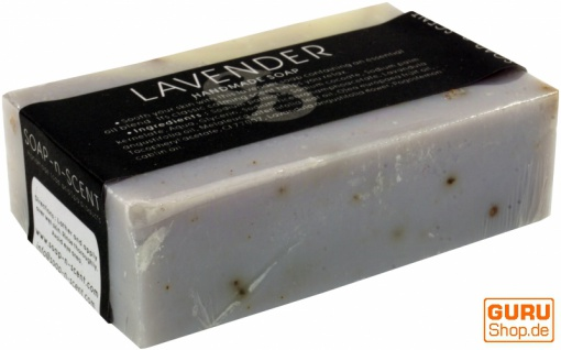 Handgemachte Duftseife, 100 g Fair Trade - Lavendel