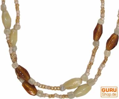 Modeschmuck, Boho Perlenkette - Model 11