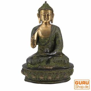 Buddha Statue aus Messing Amoghasiddhi Buddha 32 cm - Modell 1