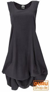 Langes wandelbares Sommerkleid, Boho Maxikleid - schwarz