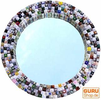 Spiegel aus Recyclingpapier - rund 65 cm