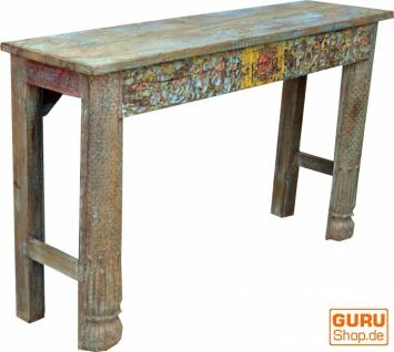 Sideboard, Highboard im Antik Look mit vielen Details - Modell 5