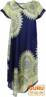 Maxikleid, Strandkleid, Sommerkleid, oversize - marineblau