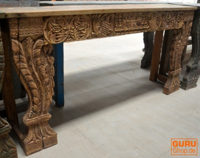 Sideboard, Flurtisch, Massivholz, Kolonialstil Indien