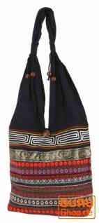 Sadhu Bag, Ethno Schulterbeutel, Hippie Tasche aus Thailand - rot