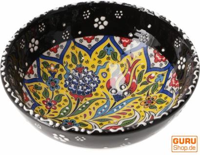 1 Stk. Orientalische Keramikschüssel, Schale, Müslischale, handbemalt - Ø 12 cm / Model 17