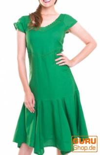 Knielanges Kleid / Chapati Design - green