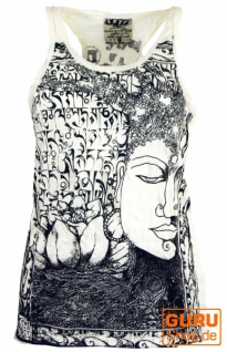 Sure Tank Top Buddha - naturweiß