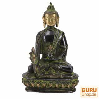 Buddha Statue aus Messing Medizin Buddha 14 cm - Modell 4