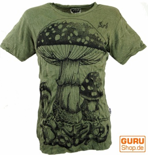 Sure T-Shirt Fliegenpilz - olive