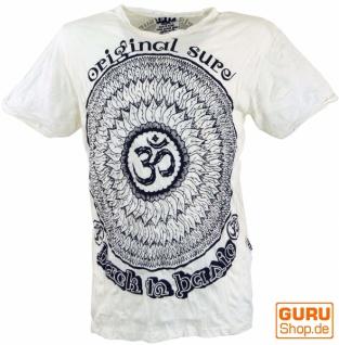 Sure T-Shirt Mandala OM - weiß