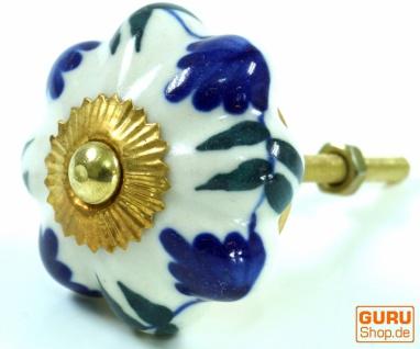Möbelknopf Rose Keramik - 36