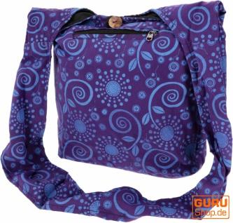 Sadhu Bag, Goa Tasche, Schulterbeutel, Einkaufsbeutel - Modell 15