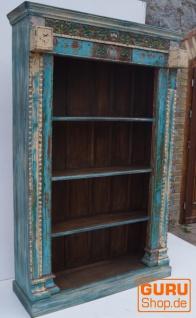 Antikes aufwendig verziertes Bücherregal - Vorschau 1